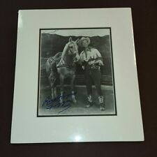 """"""" Roy Rogers """" / Custom Matted Autographed Photo."""