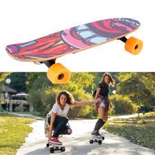 E-Skateboard Elektro Skateboard  Longboard 350W mit Fernbedienung Orange