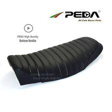 Posti sedere lunghi sedili Cafe Racer Sella per SUZUKI GN250 GN125 GT GS pelle