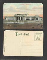 1910s UNION STATION WASHINGTON DC POSTCARD