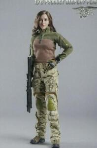 """1/6 Tactical Army Military Combat Suit Set For 12"""" Female Action Figure Doll"""