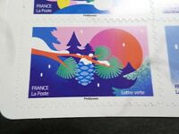 NOEL VOEUX FRANCE 2020, timbre AUTOADHESIF SPECTACULAIRE PINS neuf**, MNH