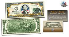 USA MARINES World War II U.S. Legal Tender $2 Dollar Bill MUST SEE Certified