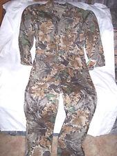Mens Medium Coveralls Advantage Hunting Camo Non Insulated Coveralls U.S. Made