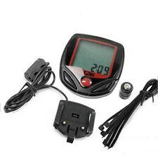 New Waterproof LCD digital Bike Computer Odometer Velometer bicycle speedometer
