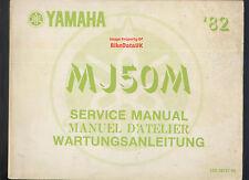 Yamaha MJ50M Towny (1982-on) Factory Work-Shop Manual MJ50,MJ 50 M,13U,Moped