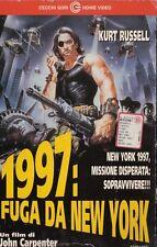 1997: fuga da New York (1981) VHS CARTONATA CECCHI GORI