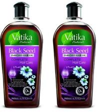 2X200ml DABUR VATIKA BLACKSEED ENRICHED HAIR OIL -Complete Care-100%Natural oils