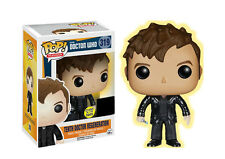 "EXCLUSIVE DOCTOR WHO TENTH DOCTOR REGENERATION GLOW 3.75"" VINYL POP FIGURE FUNKO"