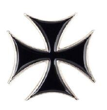 Iron Cross Badge pin WW2 WWII Germany Motif Biker Rocker Goth Military Army