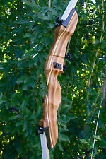 """Monarch recurve 40lb 62"""" takedown bow with bowstringer RH"""