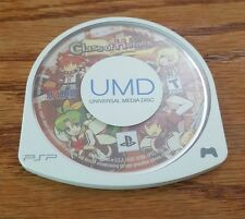 Class Of Heroes (Sony Playstation Portable) psp 1 Atlus rpg game RARE OOP