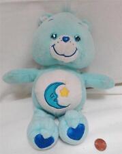 2003 Tcfc Blue Bedtime Care Bear Plush Stuffed Animal Toy
