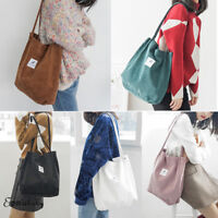 Women Lady Casual Canvas Large Capacity Handbag Shoulder Bags Tote Shopping Bag