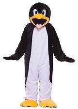 Penguin Plush Mascot Adult Costume Economy Arctic Animal Bird Halloween