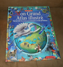 Mon Grand Atlas Illustre - Selection Readers Digest - FRENCH LANGUAGE - VGood
