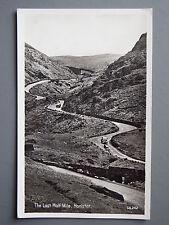 R&L Postcard: The Last Half Mile Honister, 1940's/50's Classic Cars, Chadwick