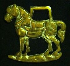 Freestanding Small Harness Horse Horse Harness Brass from England Collectible
