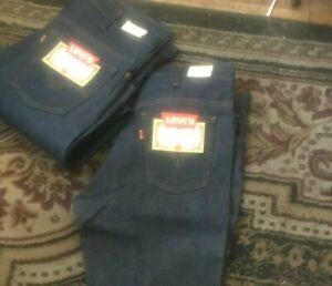 Deadstock w/tag LEVIS  646 0217 Bell Bottom jeans orange tab W 34 L 34.