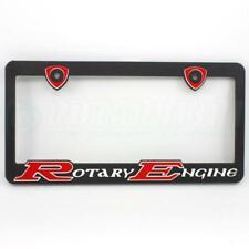 RED ROTARY ENGINE LICENSE PLATE FRAME MAZDA RX7 12A 13B TURBO RX2 RX3 RX4