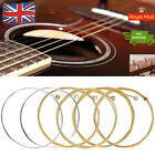 ACOUSTIC GUITAR STRINGS SET OF 6 HIGH QUALITY STRINGS
