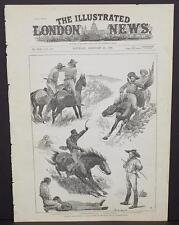 Illustrated London News Cover A2#29 Feb. 1888 A Thief at South African Fields