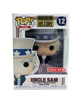 New Funko Pop American History Uncle Sam #12 Target Exclusive Figure DAMAGE BOX