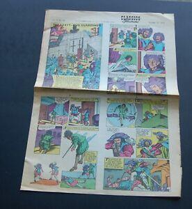 Oct 18 1970 Classic Illustrated Newspaper Comic Sect. Vol 4 #42 45 GUARDSMEN