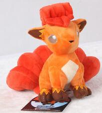 "Pokemon Center Vulpix ロコン Plush Toy Nintendo Stuffed Doll 7"" XMAS Gift US ship"