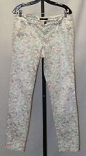 Marc Cain Sunglasses Print Stretched Jeans Pants Size N6