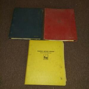 FAMOUS ARTISTS SCHOOLS INC. 1954 FAMOUS ARTISTS COURSE 1-24 VOLUME 3 BOOK SET