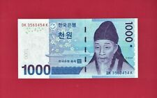South-Korea Unc Banknote: 1,000 1000 Won Nd(2006-2009) - (P-54a) Printer: Komsco