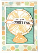 BIGGEST FAN Anniversary or Love Greeting Card - Handmade with Saying