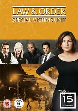 Law and Order: Special Victims Unit - Season 15 - DVD NEW & SEALED (6 Discs)
