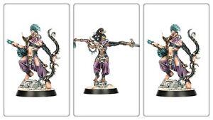 Warcry Warhammer Underworlds Age of Sigmar Hedonites of Slaanesh 3x miniatures