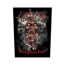 Slayer Back Patch World Painted Blood - BP862