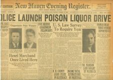 Al Capone Released from Philadelphia Prison Charles F Coe March 17 1930 B25