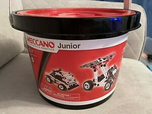 Junior Meccano 150 Piece Set With Instruction Booklet