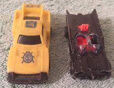 2 VINTAGE ORIGINALS 1 CORGI JR JUNIORS BATMAN BATMOBILE & 1 RX-7 PLAYBOY CARS