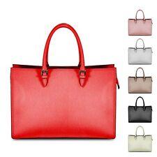 Ladies Executive Italian Leather Work Handbag Briefcase Shoulder Bag MLE-1025