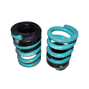 Genuine Porsche Coil Spring 9973435319A with Seatings