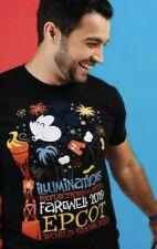 Disney EPCOT FAREWELL TO ILLUMINATIONS Mickey Mouse Adult T-Shirt 2XL XXL