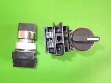 Commutateur Sélecteur 3 position courte Poignée 22.5 mm ER501200 besoins C/BLOC x 1 Ono