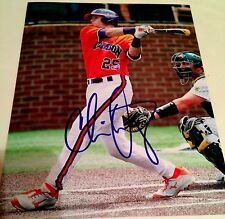 Chris Okey Clemson Tigers Baseball Signed 8x10 Photo PROOF COA