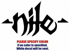 NILE Band Rock Music Graphic Die Cut decal sticker Car Truck Boat Window 7""