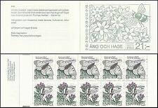 Suede Sweden Papillons Apollon Apollo Butterflies Schmetterlinge ** 1987 Carnet