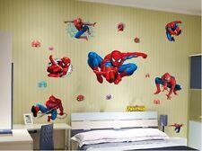 Spiderman - Lovely wall sticker children wall stickers boy's room decoration