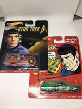 Hot Wheels Star Trek Lot