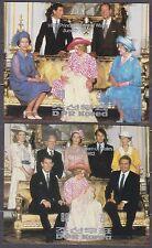 KOREA Pn. 1982 MNH** SC#2237/38 s/s set, Birth of Prince William of Wales. Imp.