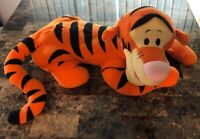 "Disney Winnie the Pooh Tigger 31"" Jumbo Plush Lying Down Fisher Price"